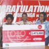 Winner of K2.4 billion lotto says 10% to God, narrates her poor past