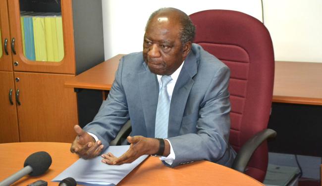 Zambian Finance Minister Alexander Chikwanda